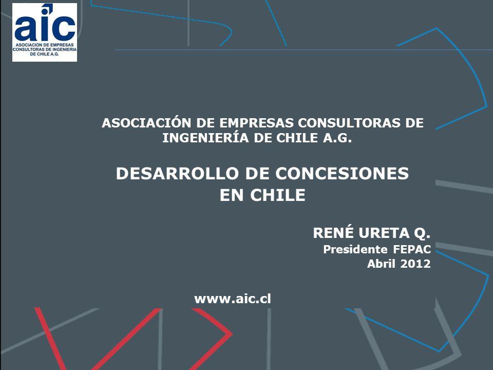 ASOCIACIÓN DE EMPRESAS CONSULTORAS DE INGENIERÍA DE CHILE A.G.