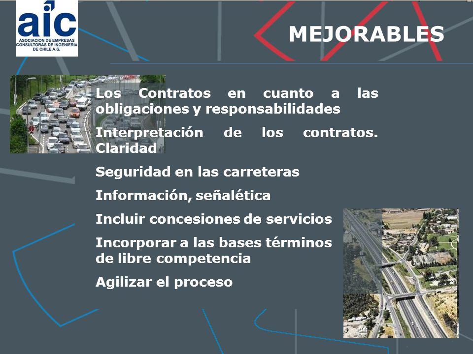 MEJORABLES Los Contratos en cuanto a las obligaciones y responsabilidades Interpretación de los contratos.