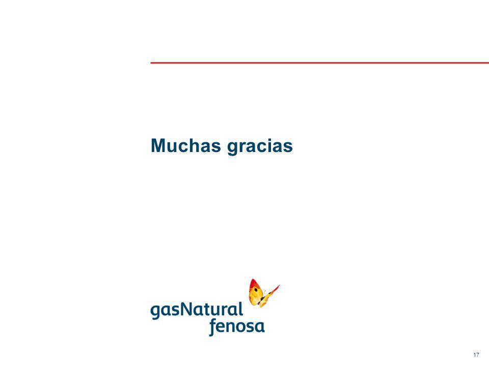 17 Muchas gracias