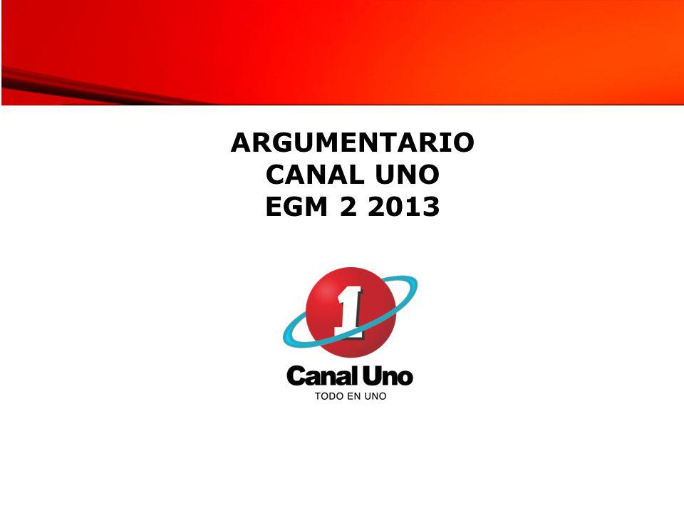 RANKING DE AUDIENCIA CANALES DE TELEVISIÓN ABIERTA Nacional Día de AyerBogotá Día de Ayer Fuente: EGM 3-2012 Universo 17.235.500 Fuente: EGM 2-2013 Universo 17507.700