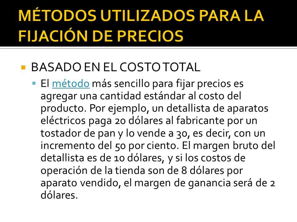 BASADO EN EL COSTO DE CONVERSIÓN El mismo precio de entrega se cotiza a todos los compradores sin importar su ubicación.