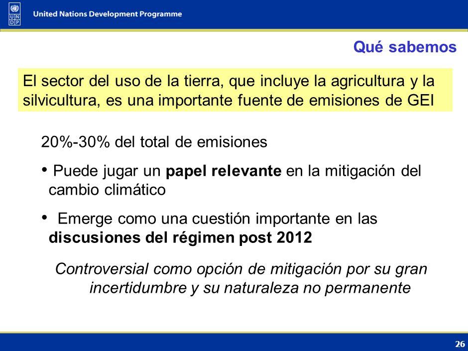 27 El papel del los bosques en la CMNUCC Cambio climático y Variabilidad climática Impactos Respuestas (CMNUCC) AdaptaciónMitigación Bosques: …mantenimiento e incremento del contenido de carbono de los ecosistemas y secuestro de carbono y reducción de las emisiones de la biósfera Bosques: …mantenimiento y aumento de la resiliencia de los ecosistemas – reducción de la vulnerabilidad