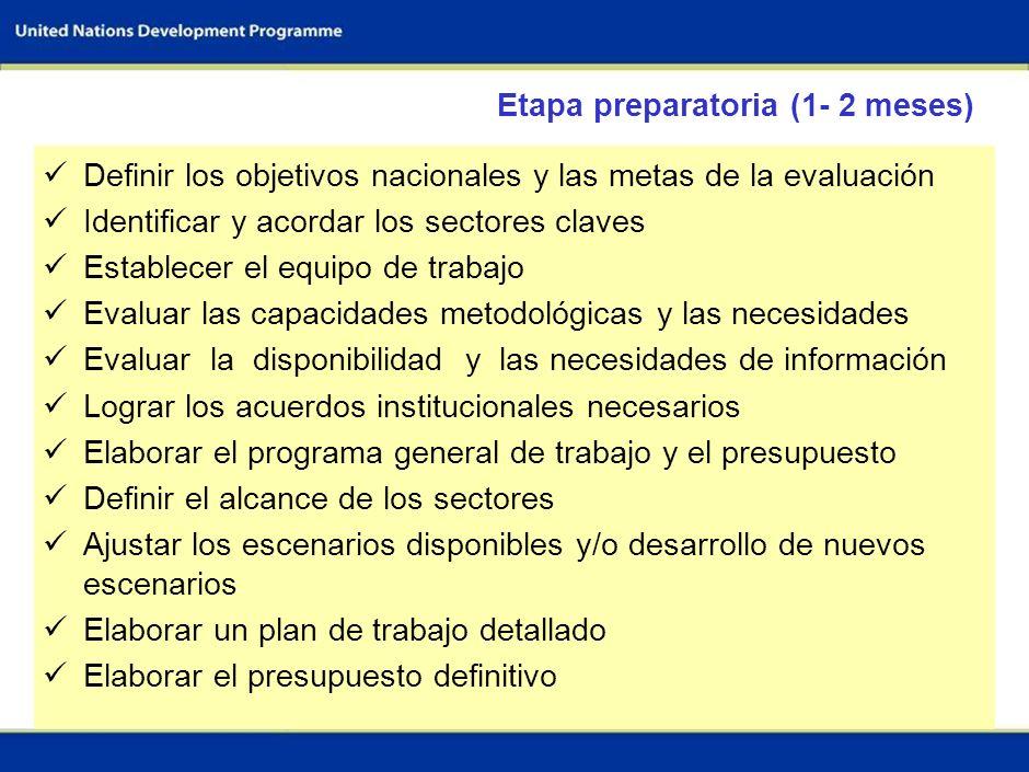35 Equipo de trabajo para la evaluación del flujo de I&F Equipo del sector 1; p.