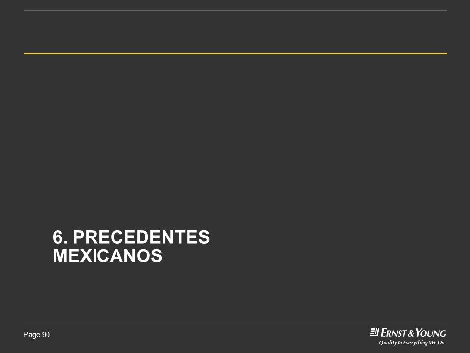 Page 90 6. PRECEDENTES MEXICANOS
