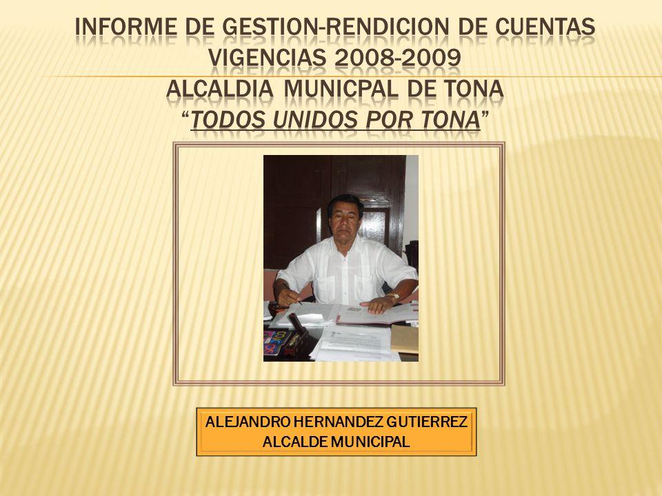 ALEJANDRO HERNANDEZ GUTIERREZ ALCALDE MUNICIPAL