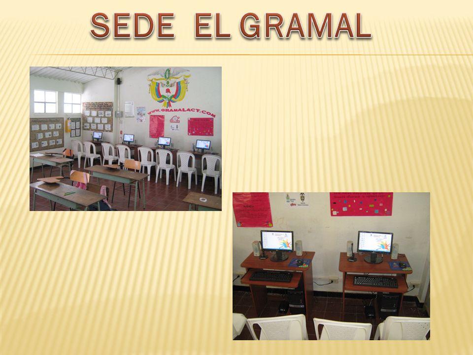 SEDES EDUCATIVAS GRAMAL --- PALMAS ----- ESCUELA URBANA