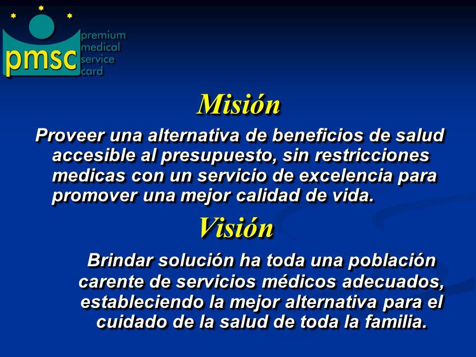 Premium Medical Service Card, es una empresa netamente puertorriqueña, que ha diseñado un programa de beneficios de salud que brinda acceso a tarifas pre- negociadas, a través de una amplia red de proveedores.