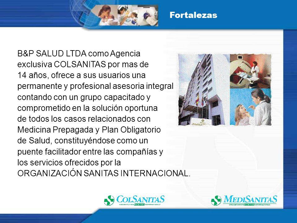 COLSANITAS 26 años liderando el sector de la Medicina Prepagada en Colombia.