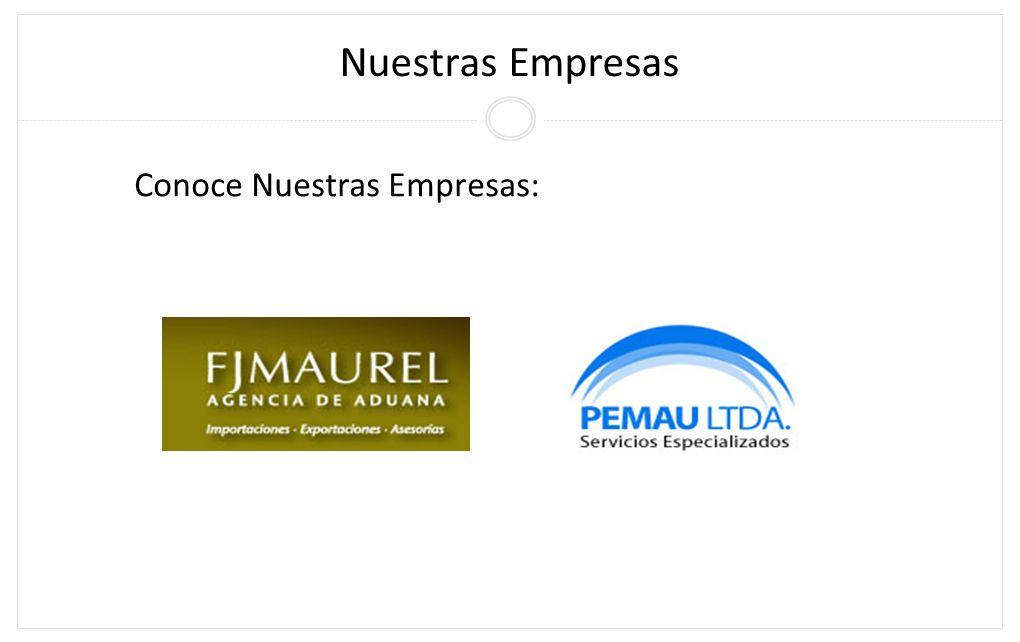 Nuestras Empresas Conoce Nuestras Empresas: