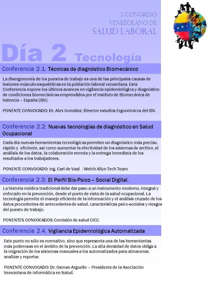 I Congreso Venezolano de Salud Laboral Este punto no sólo es normativo, sino que representa una de las herramientas más poderosas en el ámbito de la p