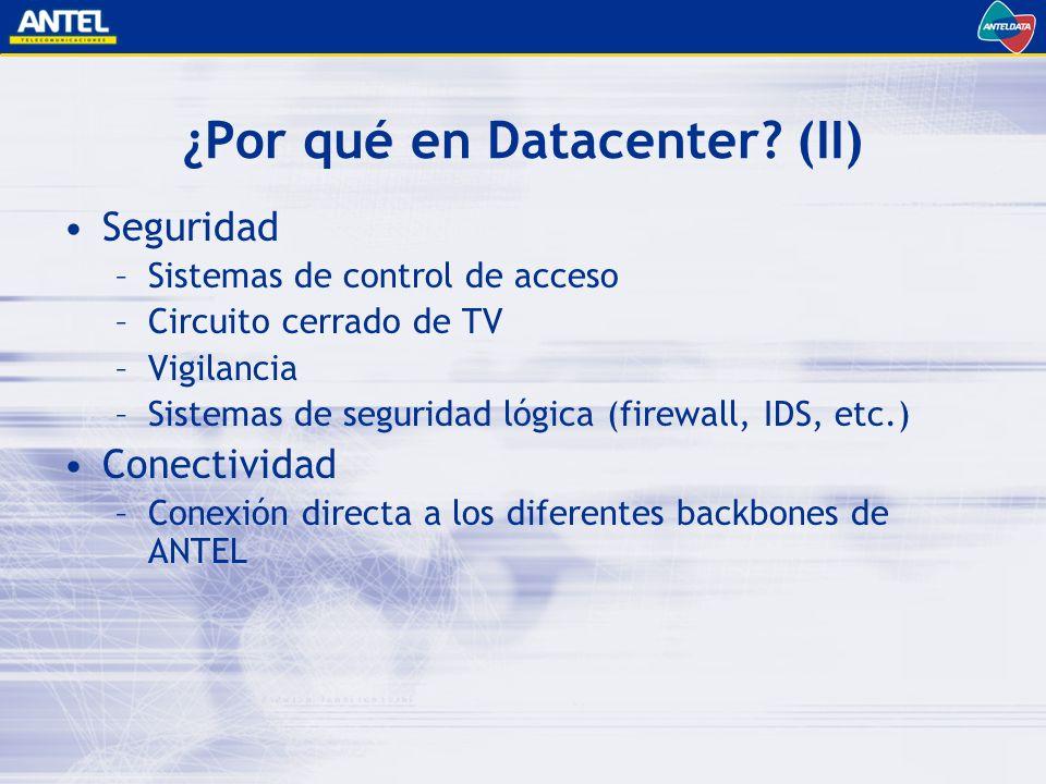 ¿Por qué en Datacenter.