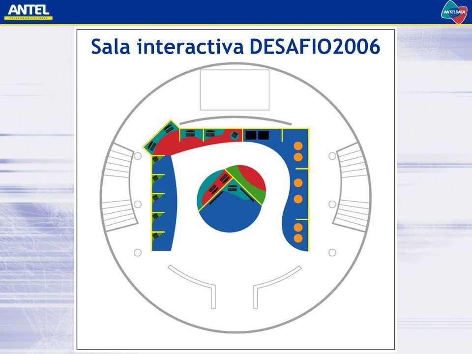 Sala interactiva DESAFIO2006