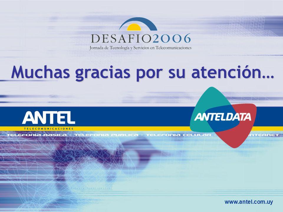 www.antel.com.uy Muchas gracias por su atención…
