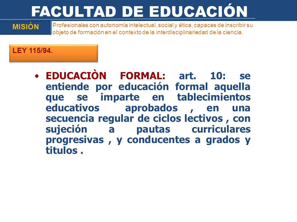 Profesionales con autonomía intelectual, social y ética, capaces de inscribir su objeto de formación en el contexto de la interdisciplinariedad de la