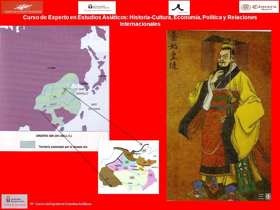R 3. Curso de Experto en Estudios Asiáticos.