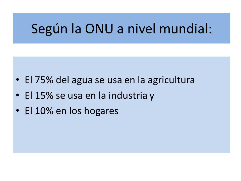 Para producir 1kg de maíz se requieren 900 lt de agua 1kg de trigo, 1,300 lt 1kg de arroz 3,400 lt 1kg de carne de res 15,500 lt 1 ton de acero requiere 150 m3 1 ton de papel 750 m3 1 Coche, 400 m3