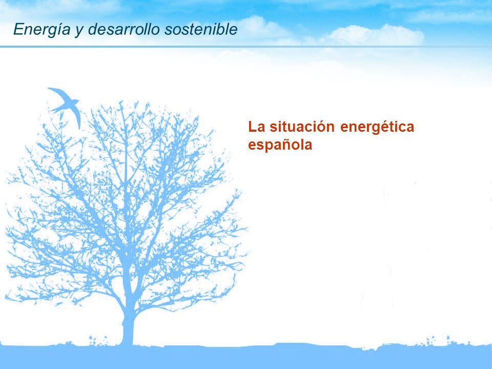 Energía y desarrollo sostenible La situación energética española