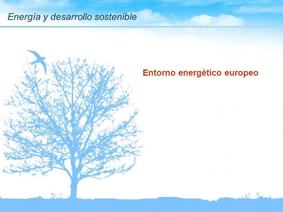 Energía y desarrollo sostenible Entorno energético europeo