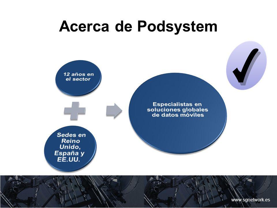 Acerca de Podsystem www.sgnetwork.es