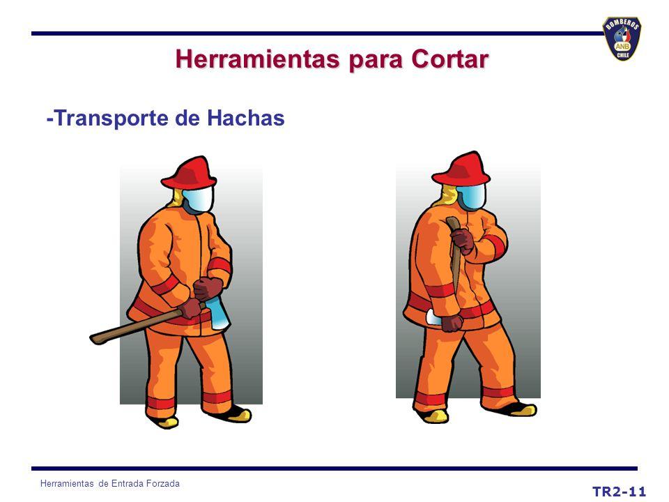 Herramientas de Entrada Forzada TR2-11 Herramientas para Cortar -Transporte de Hachas