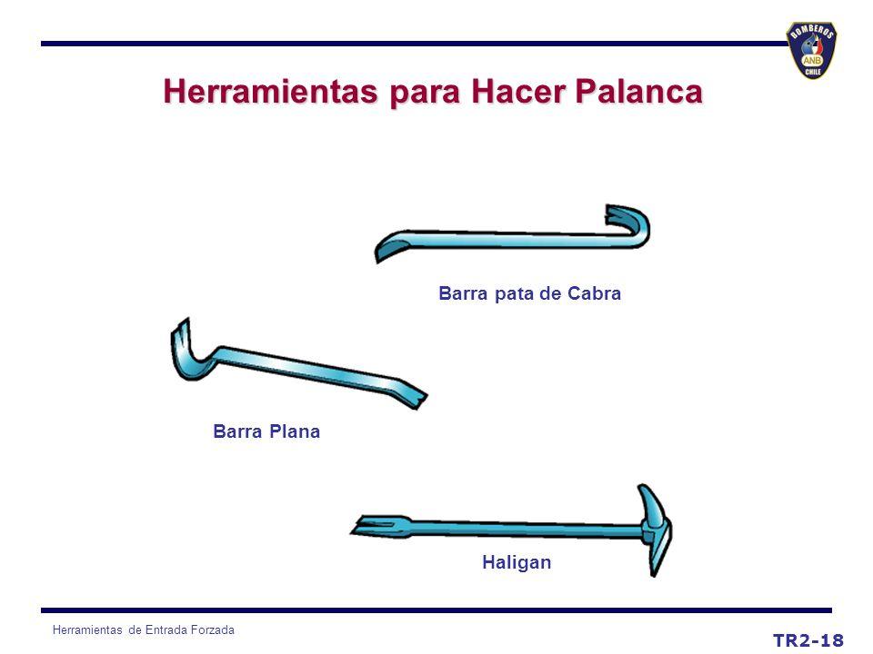 Herramientas de Entrada Forzada TR2-18 Herramientas para Hacer Palanca Barra pata de Cabra Haligan Barra Plana