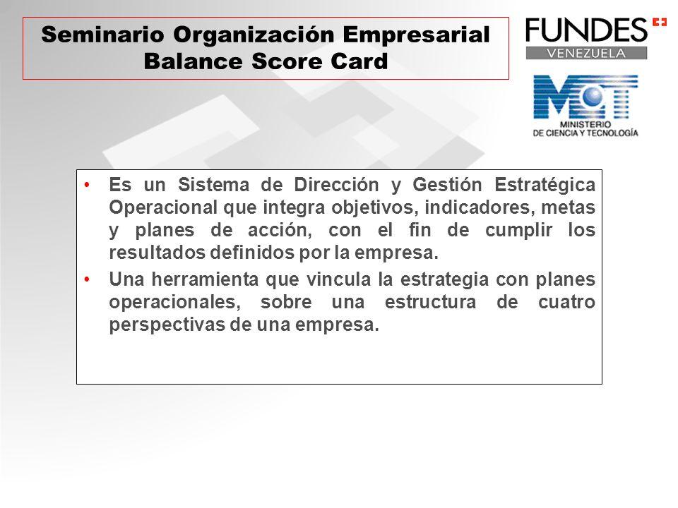 Es un Sistema de Dirección y Gestión Estratégica Operacional que integra objetivos, indicadores, metas y planes de acción, con el fin de cumplir los resultados definidos por la empresa.
