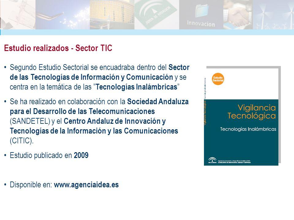 Segundo Estudio Sectorial se encuadraba dentro del Sector de las Tecnologías de Información y Comunicación y se centra en la temática de las Tecnologí