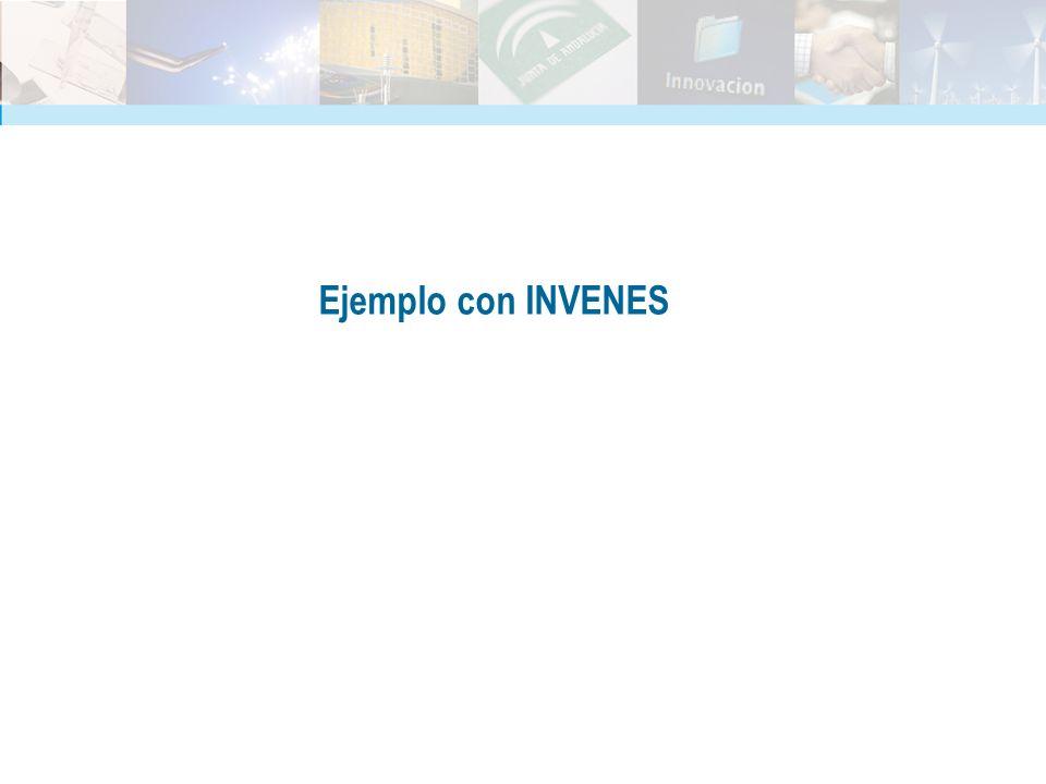 Ejemplo con INVENES