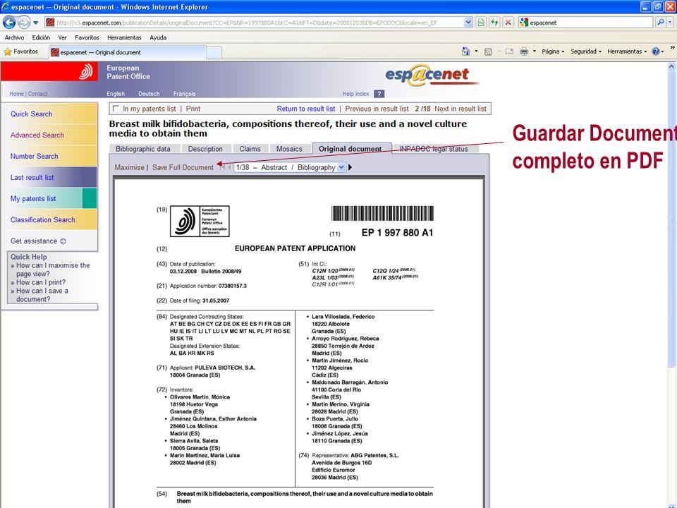 Guardar Documento completo en PDF