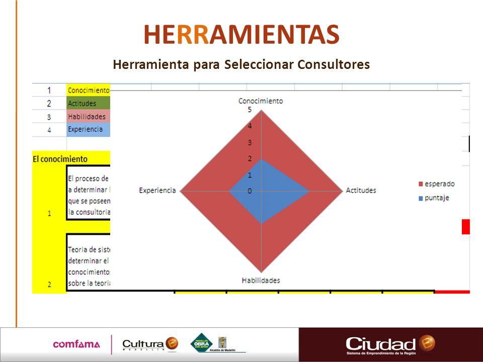 HERRAMIENTAS Herramienta para Seleccionar Consultores