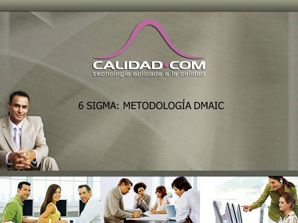 2 DEFINICIÓN MEDICION ANALISIS MEJORA (Improvement) CONTROL D M A I C Six Sigma consiste en la ejecución constante de proyectos de mejora siguiendo la metodología conocida como DMAIC.