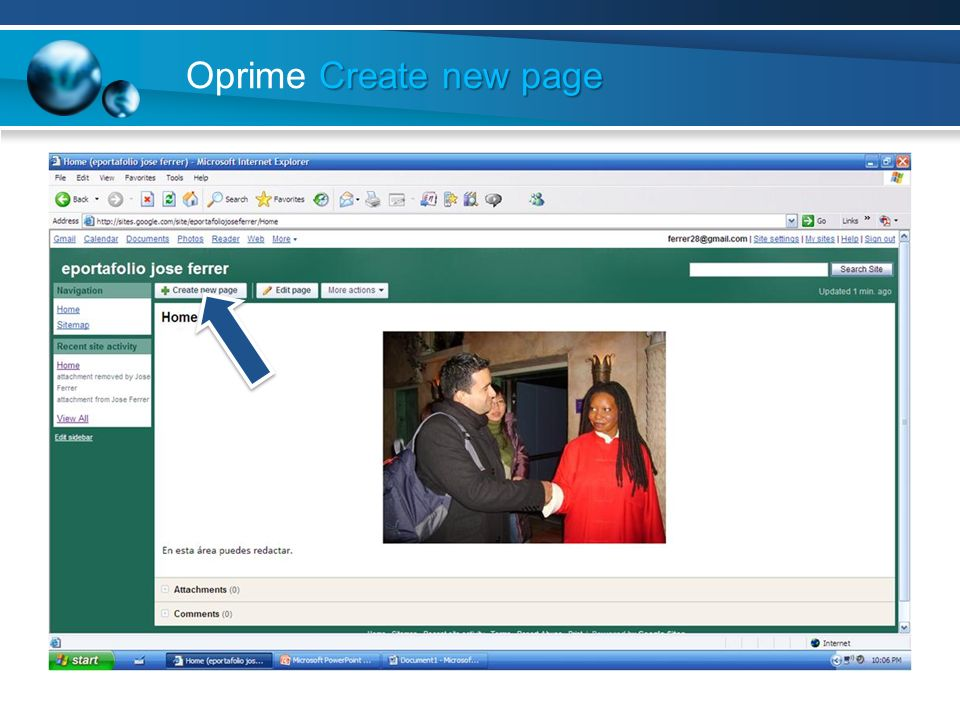 Create new page Oprime Create new page