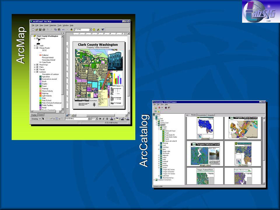 ArcMap Aplicación de despliegue básicaAplicación de despliegue básica Tareas basadas en mapasTareas basadas en mapas –Despliegue –Edición –Consulta –Análisis –Graficación –Reportes