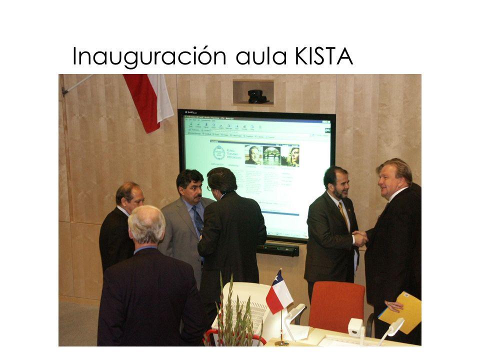 Inauguración aula KISTA