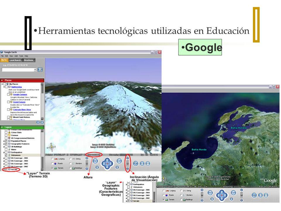 Herramientas tecnológicas utilizadas en Educación Google