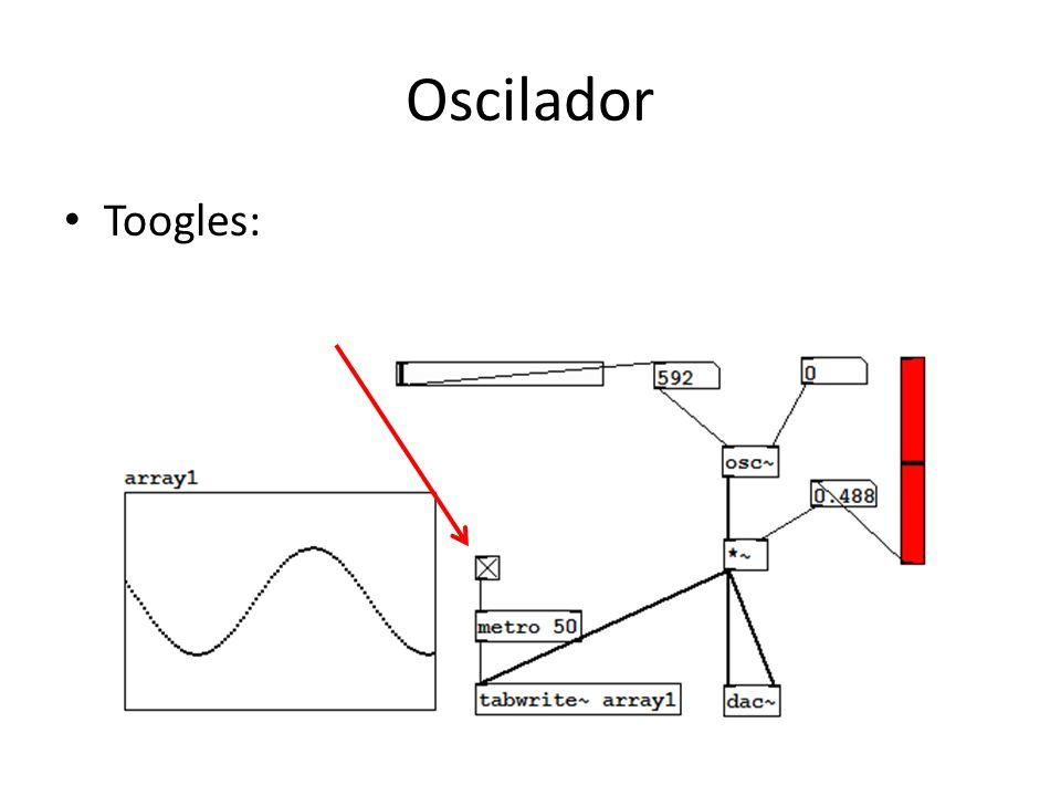 Oscilador Toogles: