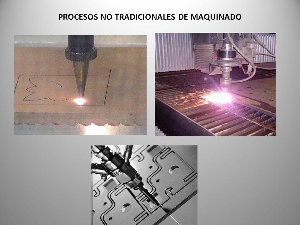 PROCESOS NO TRADICIONALES DE MAQUINADO