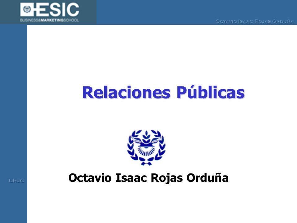 Relaciones Públicas Octavio Isaac Rojas Orduña