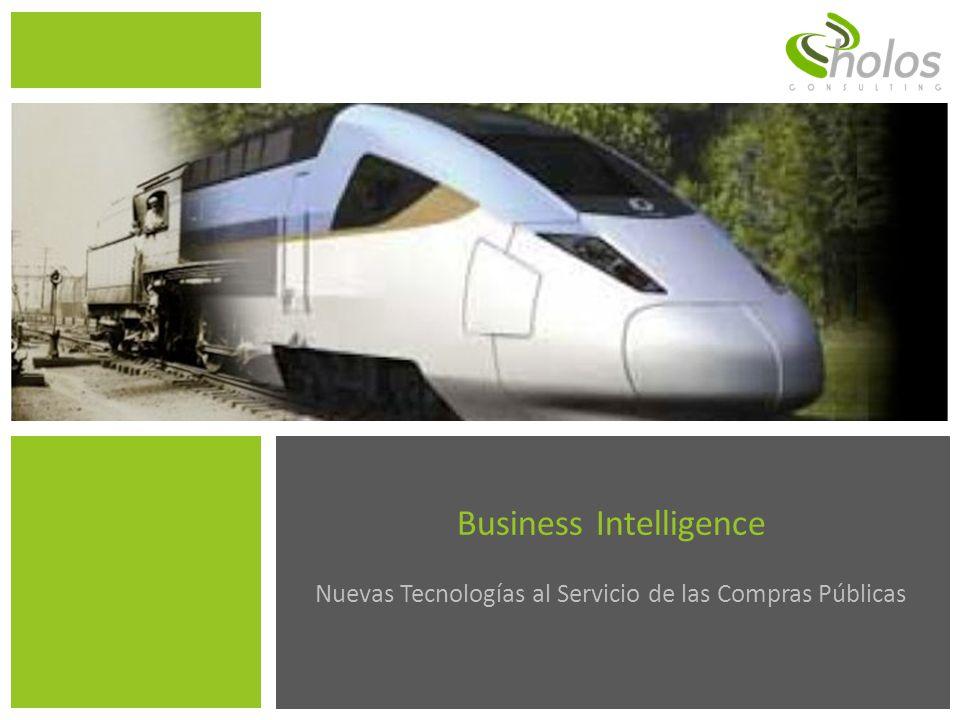 Business Intelligence para las Compras Públicas 32 Ejemplo de un BI.