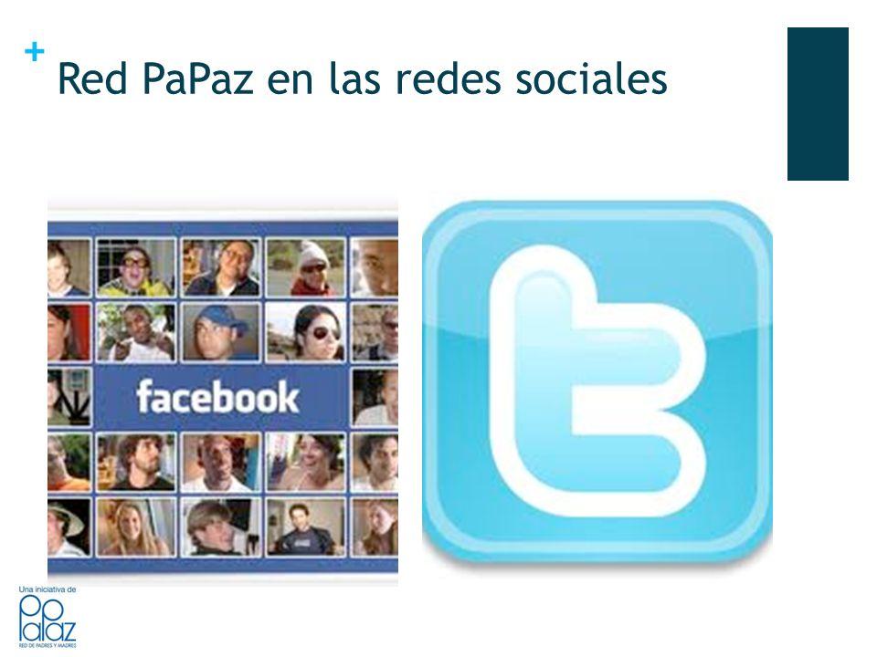 + Red PaPaz en las redes sociales