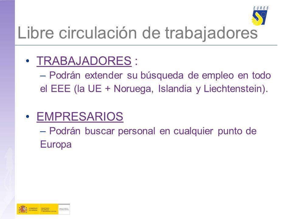 24 EURES en www.sepe.es