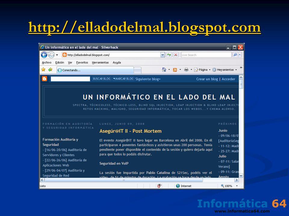 http://elladodelmal.blogspot.com