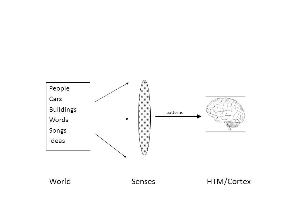 WorldHTM/CortexSenses People Cars Buildings Words Songs Ideas patterns