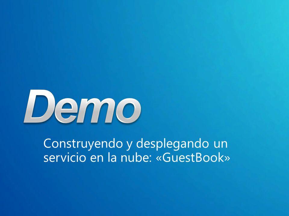 Construyendo y desplegando un servicio en la nube: «GuestBook»