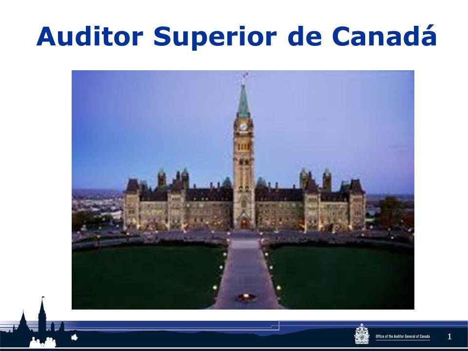 Auditor Superior de Canadá 1