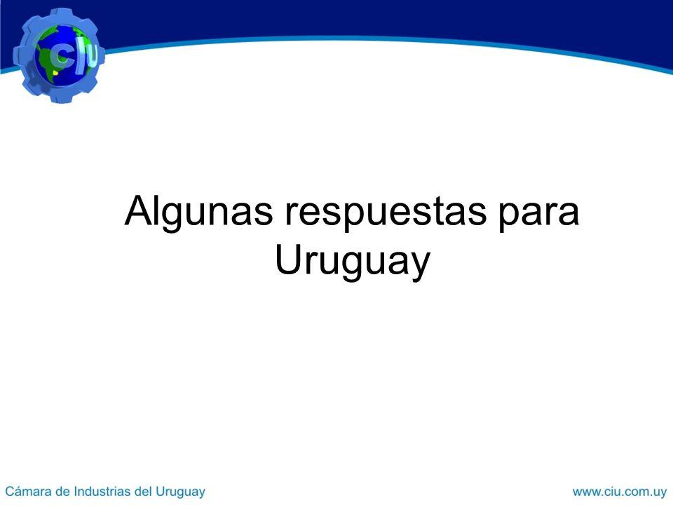 Algunas respuestas para Uruguay