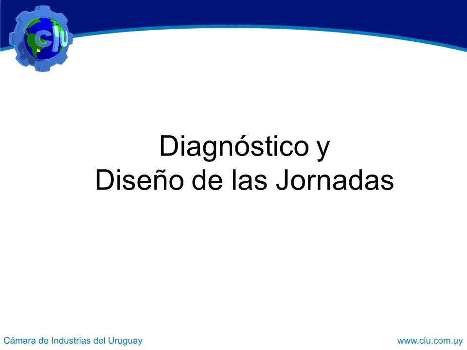 Diagnóstico y Diseño de las Jornadas