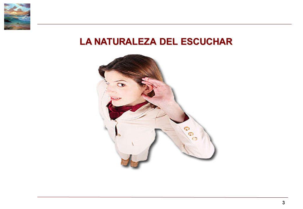 3 LA NATURALEZA DEL ESCUCHAR