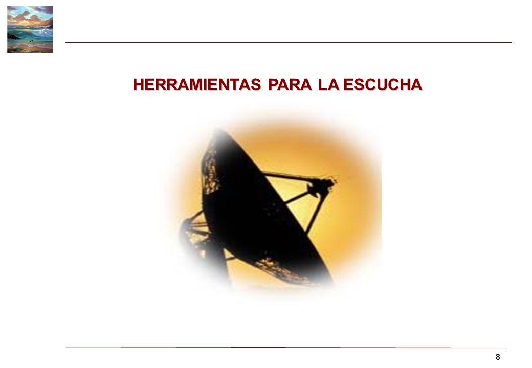 8 HERRAMIENTAS PARA LA ESCUCHA