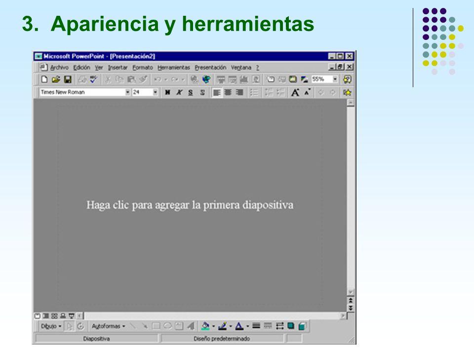 - Ver clasificador de diapositivas: Permite ver todas las diapositivas en miniatura con texto y gráficos.